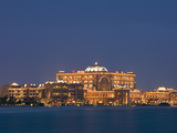 Emirates Palace Hotel, Abu Dhabi, United Arab Emirates, Middle East Photographic Print by Angelo Cavalli