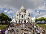 Basilique du Sacre Coeur, Montmartre, Paris, France, Europe Photographic Print by Gavin Hellier