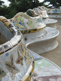 Guell Park (Parc Guell), UNESCO World Heritage Site, Barcelona, Catalunya (Catalonia), Spain Photographie par Nico Tondini