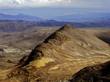 View from Mount Chacaltaya, Altiplano in Distance, Calahuyo Near La Paz, Bolivia, Andes Photographic Print by Simon Montgomery