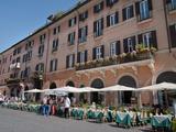Outdoor Restaurant, Piazza Navona, Rome, Lazio, Italy, Europe Photographic Print by Adina Tovy