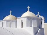 Church, Chora, Amorgos, Cyclades, Aegean, Greek Islands, Greece, Europe Photographic Print by  Tuul
