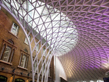 Western Concourse of King's Cross Station, London, England, United Kingdom, Europe Photographic Print by Adina Tovy