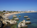 Praia Do Vau, Portimao, Algarve, Portugal, Europe Photographic Print by Jeremy Lightfoot