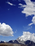 Mount Huayna Potosi, Calahuyo, Cordillera Real, Bolivia, Andes, South America Photographic Print by Simon Montgomery