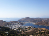 View from the Monastery of St. John the Evangelist, Patmos, Dodecanese, Greek Islands, Greece Photographic Print by Oliviero Olivieri
