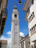 Duomo of San Martino Belltower, Piazza Dei Duomo, Belluno, Province of Belluno, Veneto, Italy Photographic Print by Frank Fell