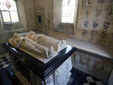 Tombs and Effigies of Hungerford Family, Chapel of 14th Ceny Farleigh Hungerford Castle, England Photographic Print by Ethel Davies