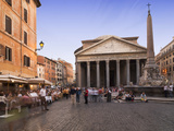 The Pantheon, Rome, Lazio, Italy, Europe Photographie par Angelo Cavalli