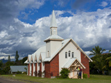 Little Church on the East Coast of Grande Terre, New Caledonia, Melanesia, South Pacific, Pacific Photographic Print by Michael Runkel