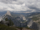 Yosemite Valley from Glacier Point, Yosemite Nat'l Park, UNESCO World Heritage Site, California USA Photographic Print by Antonio Busiello