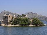 St. Nikola Monastery and Island, Skadar Lake, Montenegro, Europe Photographic Print by Rolf Richardson