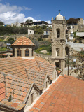 View over Church and Village, Tochni, Cyprus, Europe Photographic Print by Stuart Black