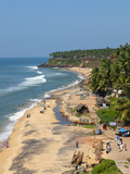 Papanasam Beach, Varkala, Kerala, India, Asia Photographic Print by Stuart Black
