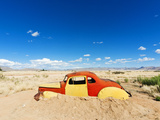 Abandoned Car, Solitaire Village, Khomas Region, Near the Namib-Naukluft National Park, Namibia Photographic Print by Nico Tondini