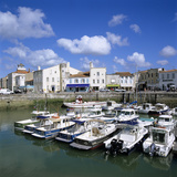 The Harbour, St. Martin, Ile de Re, Poitou-Charentes, France, Europe Photographic Print by Stuart Black