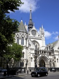 Royal Courts of Justice, City of London, England, United Kingdom, Europe Photographic Print by Peter Barritt