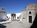 Roof Church at Hemitage Monastery of St John Evangelist, UNESCO World Heritage Site, Patmos, Greece Photographic Print by Oliviero Olivieri
