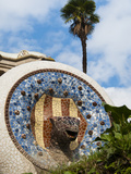 Guell Park (Parc Guell), UNESCO World Heritage Site, Barcelona, Catalunya (Catalonia), Spain Photographic Print by Nico Tondini