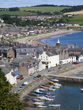 Stonehaven Harbour from Harbour View, Stonehaven, Aberdeenshire, Scotland, United Kingdom, Europe Photographic Print by Mark Sunderland