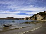 Kollabaya, Challapampa, Isla del Sol, Lake Titicaca, Bolivia, South America Photographic Print by Simon Montgomery