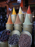 Spice Shop, Marrakech, Morocco, North Africa, Africa Photographic Print by Vincenzo Lombardo