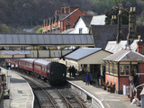 Llangollen Railway, Station, Llangollen, Dee Valley, Denbighshire, North Wales, Wales, UK, Europe Photographic Print by Wendy Connett