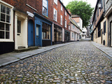 Old Cobbled Street, Elm Hill, Norwich, Norfolk, England, United Kingdom, Europe Photographic Print by Mark Sunderland