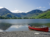Lake Buttermere with Fleetwith Pike and Haystacks, Lake District National Park, Cumbria, England Photographic Print by James Emmerson