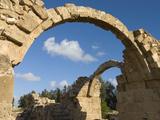 Saranda Kolones, Archaeological Park, Paphos, Cyprus, Europe Photographic Print by Stuart Black