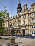 Old Post Office Building in City Square, Leeds, West Yorkshire, Yorkshire, England, UK, Europe Photographic Print by Mark Sunderland