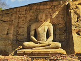 Ancient City of Polonnaruwa, UNESCO World Heritage Site, Polonnaruwa, Sri Lanka, Asia Photographic Print by Jochen Schlenker
