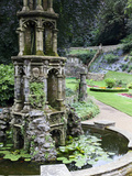 Pond in the Plantation Garden, Norwich, Norfolk, England, United Kingdom, Europe Photographic Print by Mark Sunderland