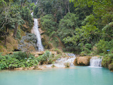 Kuang Si Waterfalls, Luang Prabang, Laos, Indochina, Southeast Asia, Asia Photographic Print by Matthew Williams-Ellis