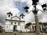Catedral Basilica Da Se (Nossa Senhora Da Assuncao) at Praca Da Se, Mariana, Minas Gerais, Brazil Photographic Print by Yadid Levy