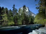El Capitan Mountain with River, Yosemite Nat'l Park, UNESCO World Heritage Site, California, USA Photographic Print by Antonio Busiello