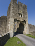 Gatehouse of the 14th Century Farleigh Hungerford Castle, Somerset, England, United Kingdom, Europe Photographic Print by Ethel Davies
