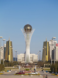 Bayterek Tower, Astana, Kazakhstan, Central Asia, Asia Photographic Print by Jane Sweeney
