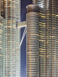 Detail View of the Petronas Twin Towers, Kuala Lumpur, Malaysia, Southeast Asia, Asia Photographic Print by Gavin Hellier