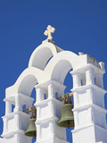 Bells on Church, Chora, Amorgos, Cyclades, Aegean, Greek Islands, Greece, Europe Photographic Print by  Tuul