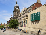Leeds Library and Town Hall on the Headrow, Leeds, West Yorkshire, Yorkshire, England, UK, Europe Photographic Print by Mark Sunderland