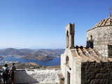 View from Monastery of St. John Evangelist, UNESCO World Heritage Site, Patmos, Dodecanese, Greece Photographic Print by Oliviero Olivieri