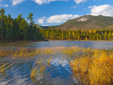 Elbow Pond, Baxter State Park, Maine, New England, United States of America, North America Photographic Print by Alan Copson