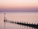 Selsey Bill at Sunset, Selsey, West Sussex, England, United Kingdom, Europe Photographic Print by Jean Brooks