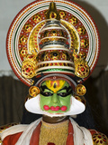 Kathakali Dancer, Kochi (Cochin), Kerala, India, Asia Photographic Print by Stuart Black