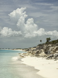 Deserted Island (Cay), Eastern Providenciales, Turks and Caicos Islands, West Indies, Caribbean Photographic Print by Kim Walker