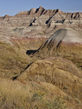 Badlands, Badlands National Park, South Dakota, United States of America, North America Photographic Print by James Hager