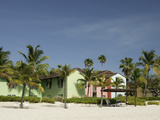 Caribbean Homes on Grace Bay Beach, Providenciales, Turks and Caicos Islands, West Indies Photographie par Kim Walker