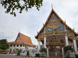 Temple at Wat Mongkhon Nimit, Phuket Old Town, Phuket, Thailand, Southeast Asia, Asia Photographic Print by Lynn Gail