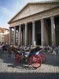 The Pantheon, Rome, Lazio, Italy, Europe Photographie par Angelo Cavalli